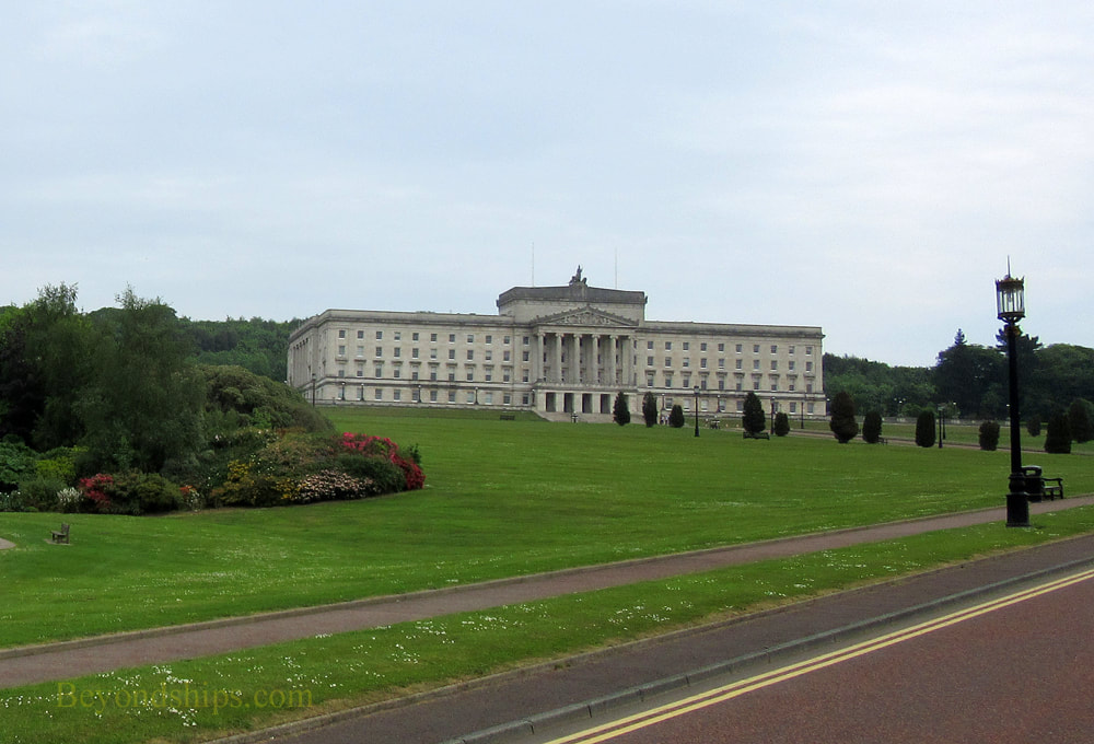 Belfast, Northern Ireland, Stormont Parliament Building
