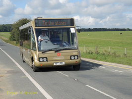 Stonehenge shuttle bus