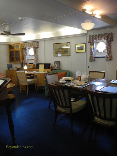 Picture Royal Yacht Britannia, Admiral's suite