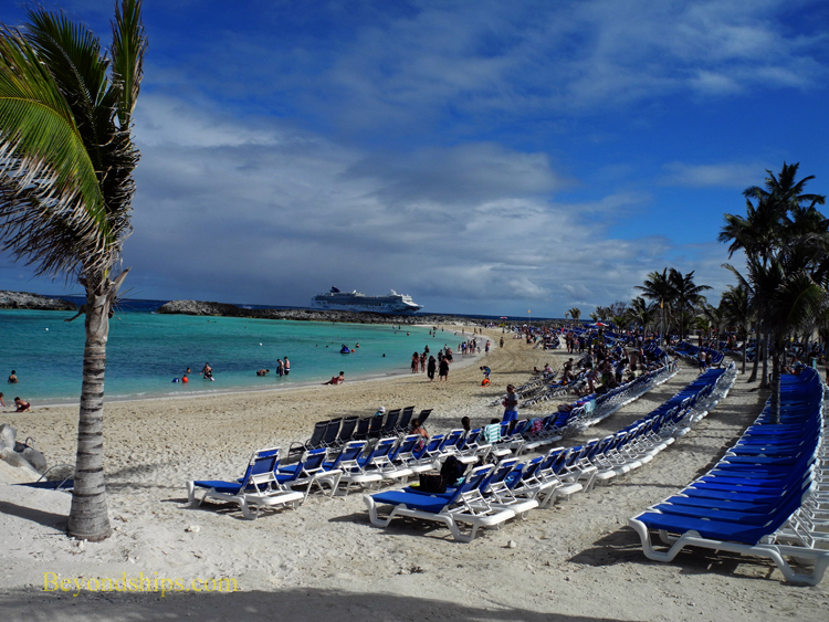 Great Stirrup Cay Bertram's beach