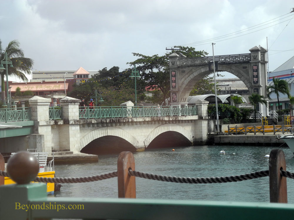 Chamberlain Bridge and Independence Arch, Bridgetown, Barbados