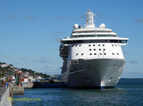 Brilliance of the Seas in Cobh, Ireland