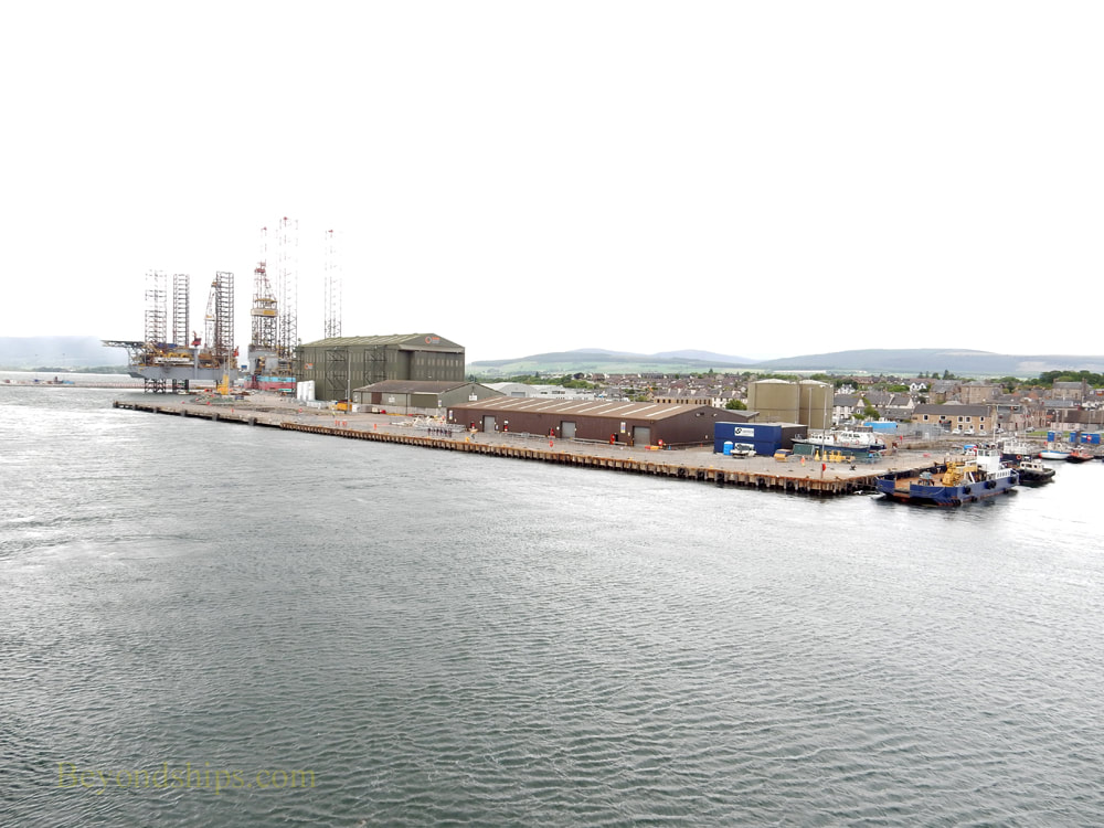 Invergordon cruise port