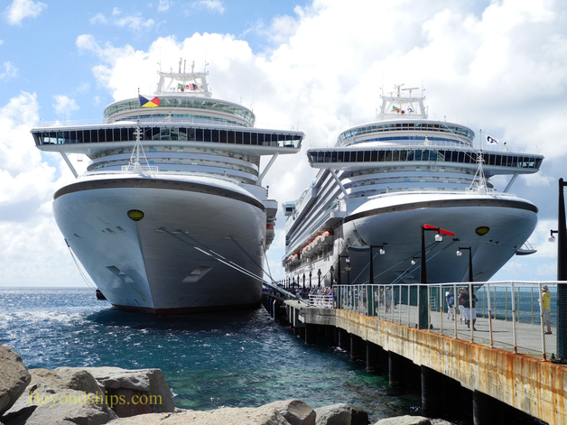 Ventura and Emerald Princess