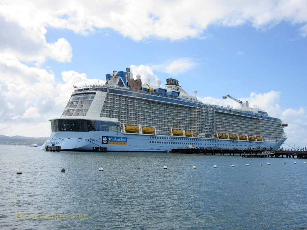 Anthem of the Seas in Martinique
