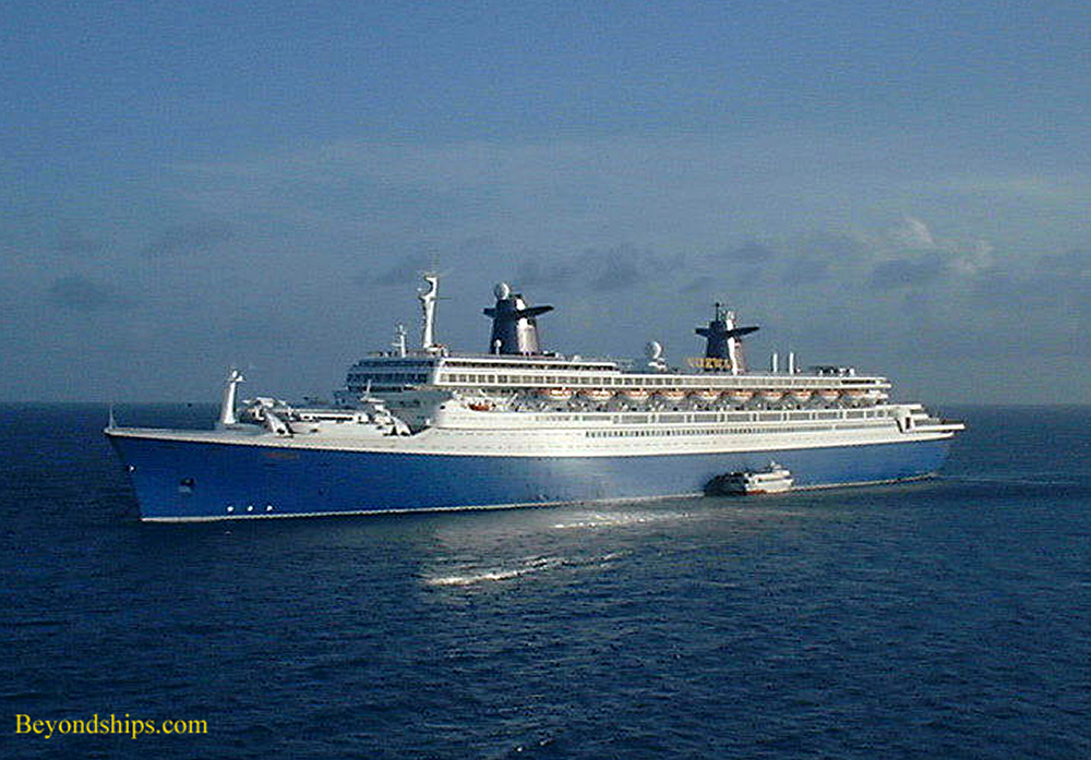 SS Norway cruise ship in St. Thomas