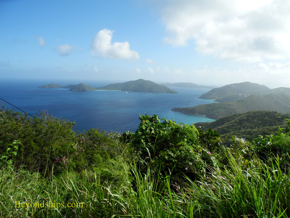 View from Ridge Road, Tortola
