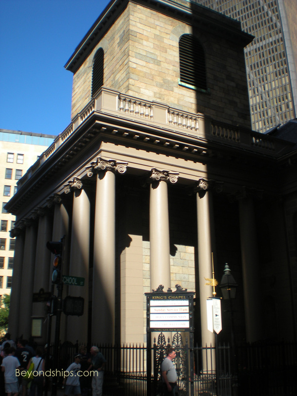 King's Chapel, Boston
