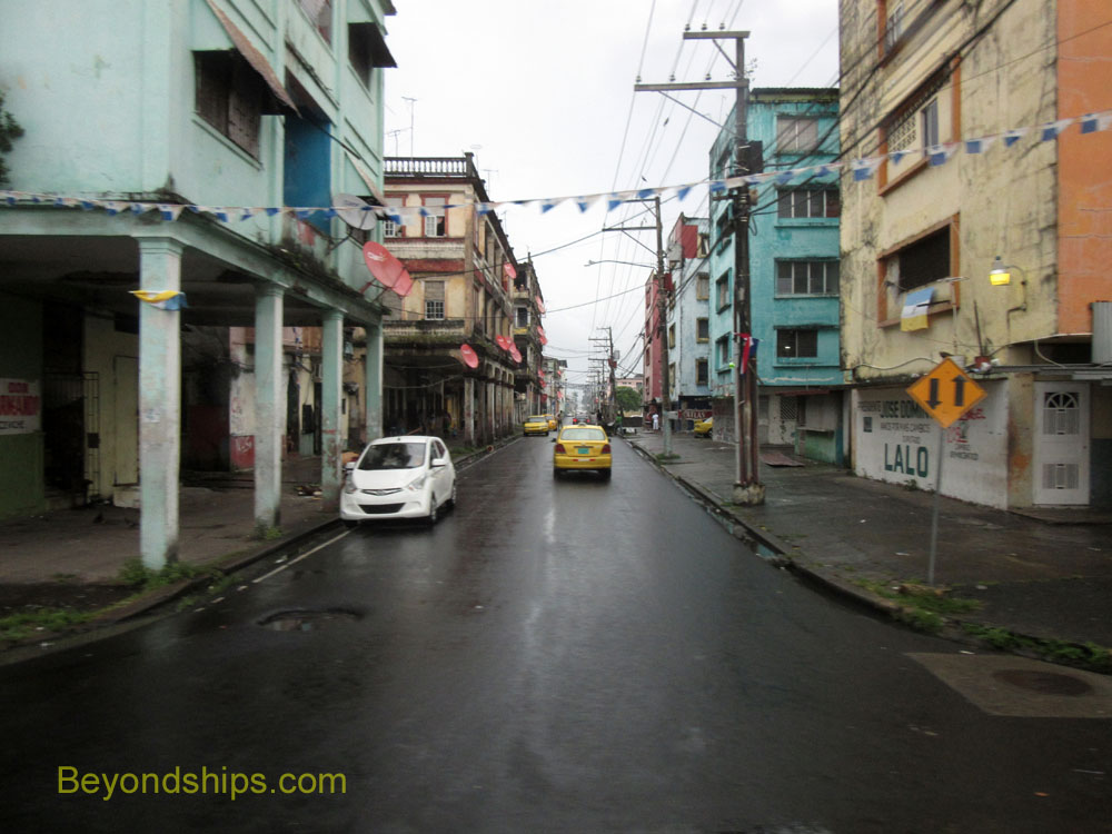 Street Colon, Panama