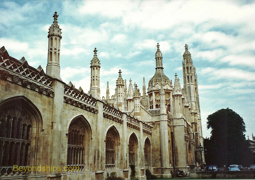 King's College screen, Cambridge