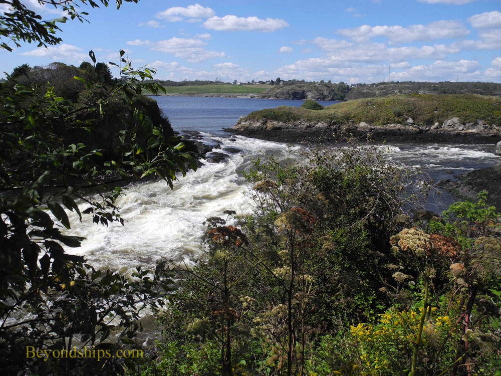 The Reversing Falls, St. John, New Brunswick