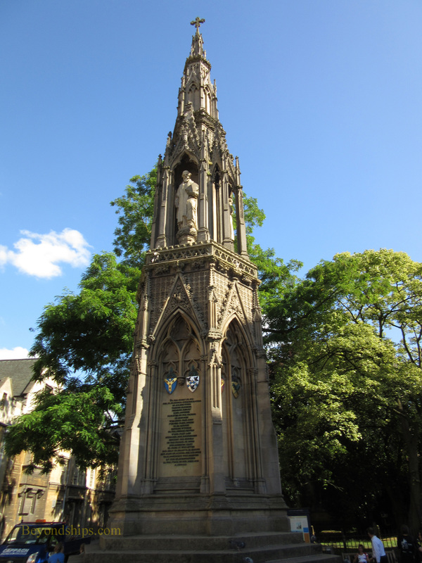 Martyrs Memorial, Oxford