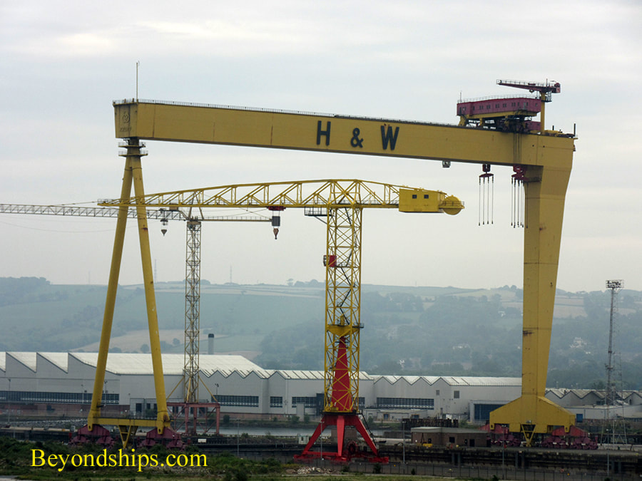 Belfast, Northern Ireland, Samson and Goliath