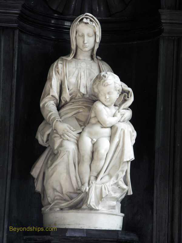 Michelangelo's Madonna and Child, Church of Our Lady, Bruges