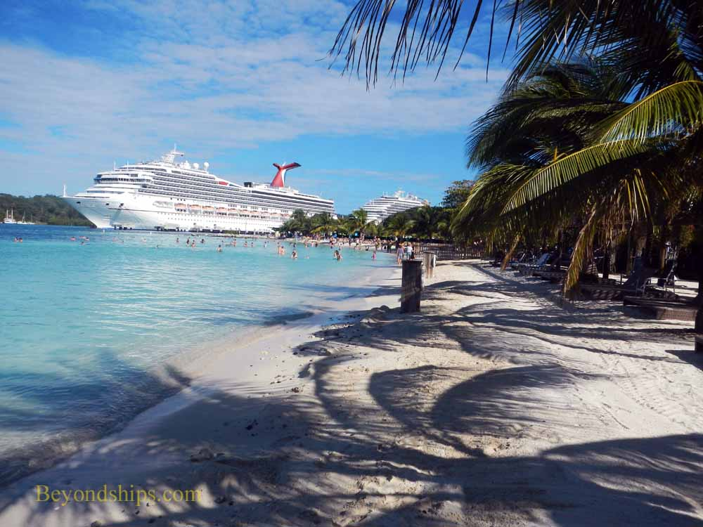 Carnival Liberty at Mahogany Bay