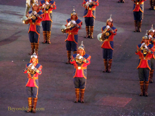 Orchestra of the Mongolian Armed Forces, Edinburgh Royal Military Tattoo, Edinburgh, Scotland
