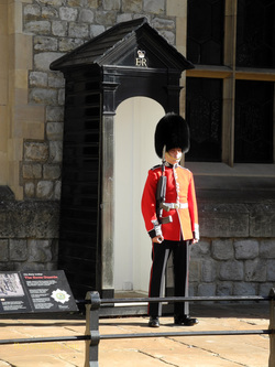 Guard, Tower of London