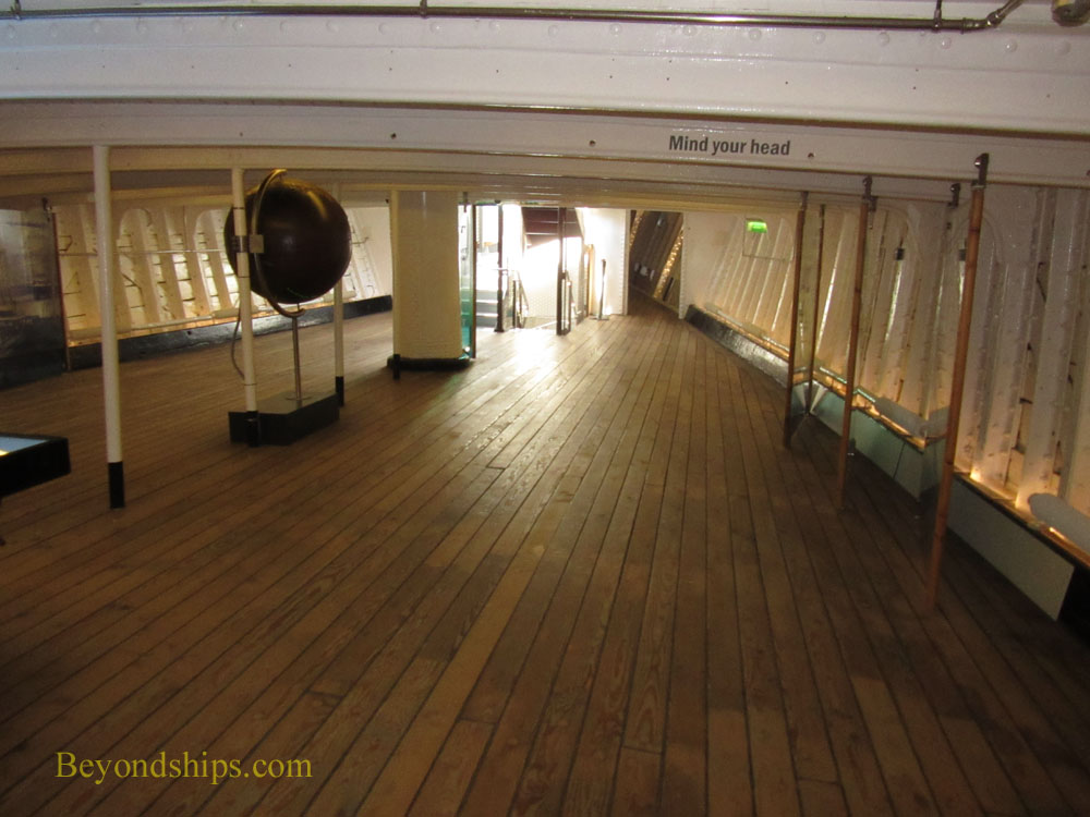 Cutty Sark interior