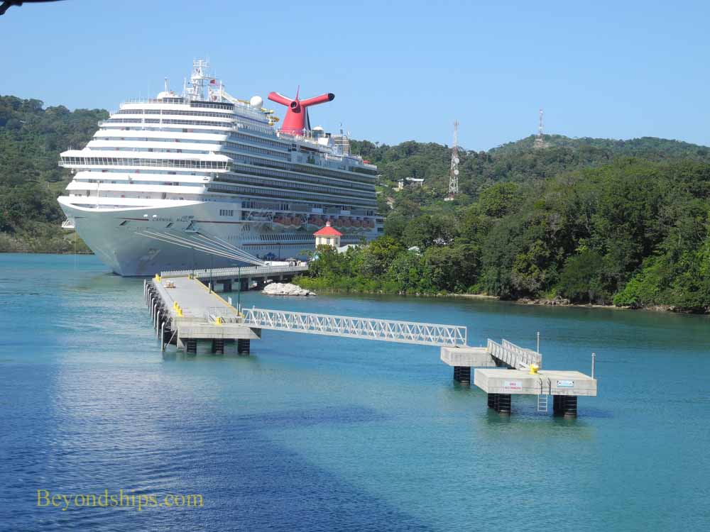 Carnival Magic at Mahogany Bay