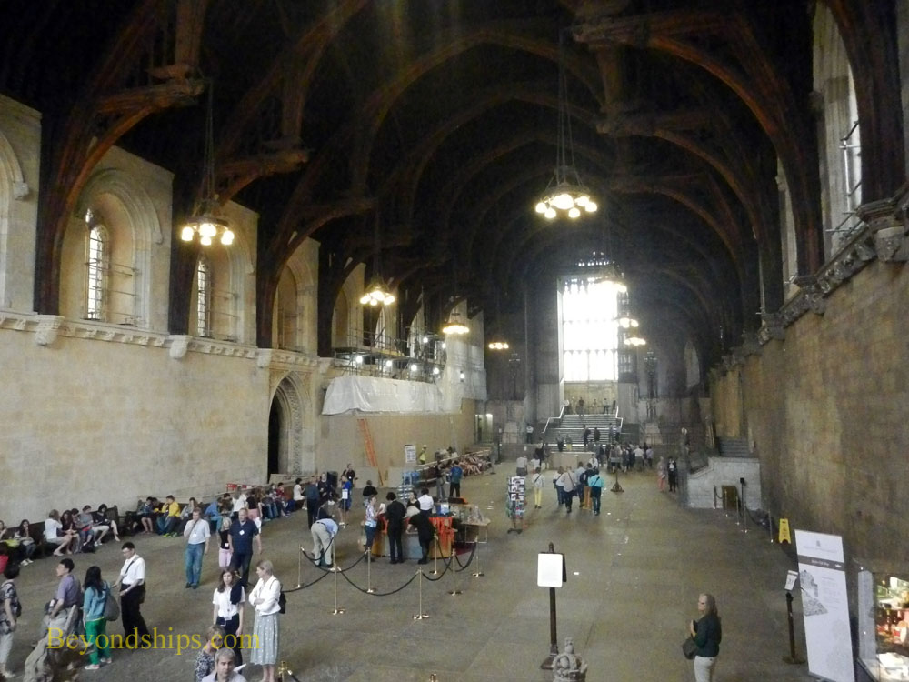 Westminster Hall, The Houses of Parliament, London, England