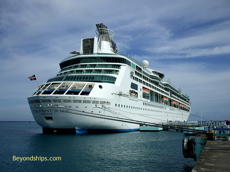 Enchantment of the Seas at Ocho Rios, Jamaica