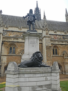 Statue of Oliver Cromwell, Houses of Parliament, London