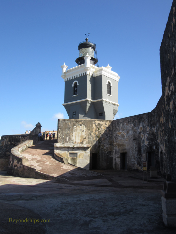 El Morro lighthouse, San Juan