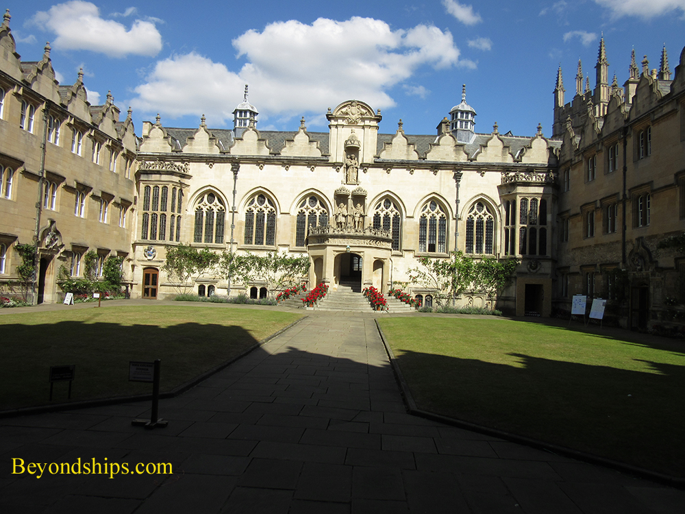 Oriel College. Oxford