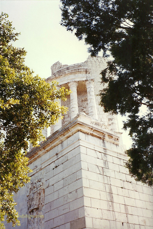 Trophy of Augustus, French Riviera