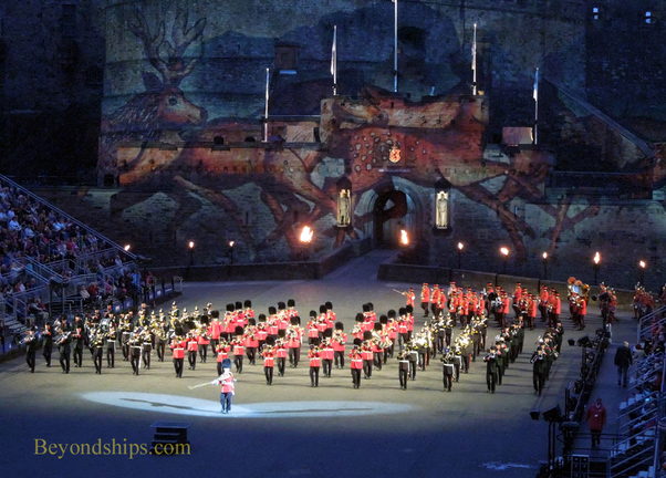 Edinburgh royal military tattoo 3 for Royal military tattoo