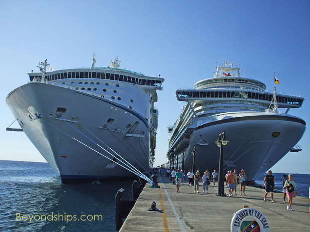 Explorer of the Seas and Azura