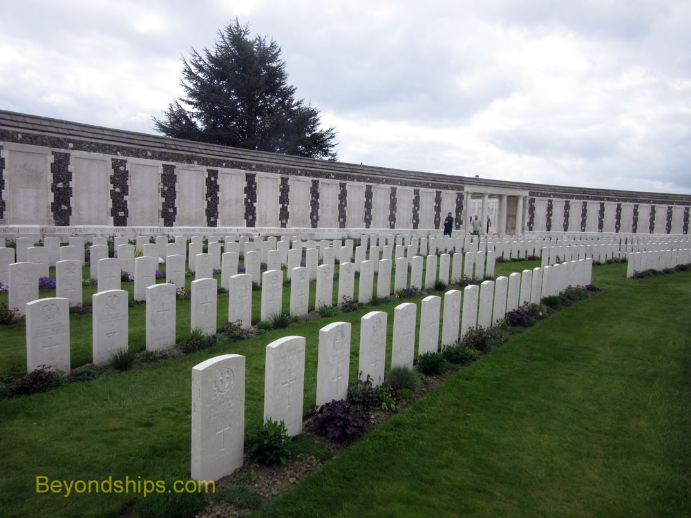 Tyne Cot Memorial to the Missing near Ypres