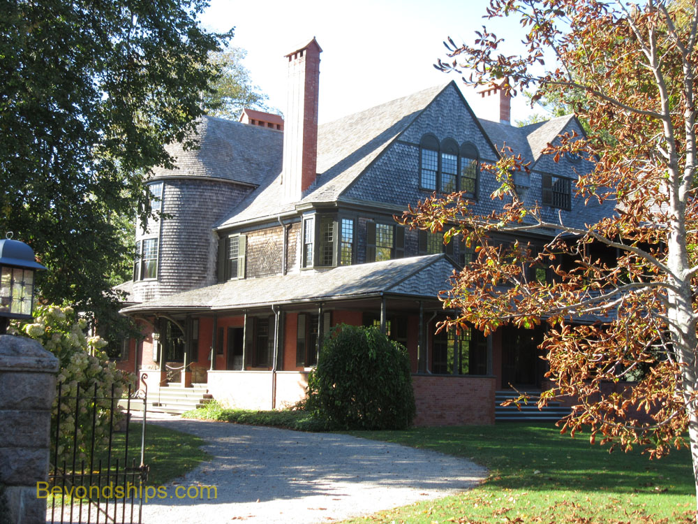 Issac Bell House, In 1883, Bell commissioned the prestigous New York architectural firm McKim, Mead and White to design a summer cottage for him in Newport.