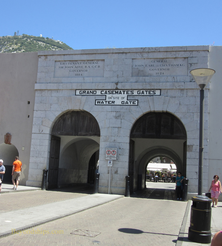 Water Gate, Grand Casemates Square, Gibraltar