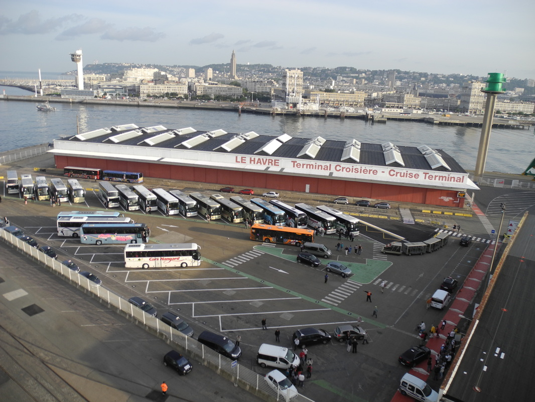 Le Harve cruise terminal, France