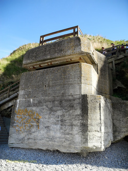 World War II bunker, Etretat, France