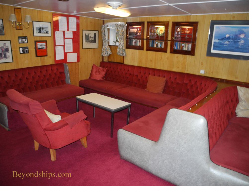 Petty Officers Mess Royal Yacht Britannia