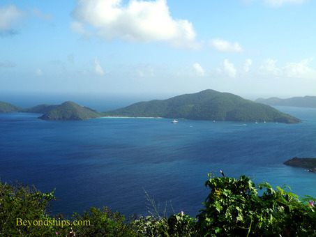 View from Ridge Road Tortola Tortola