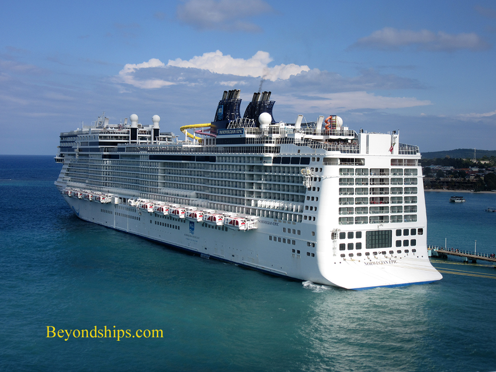 Norwegian Epic at Ocho Rios, Jamaica