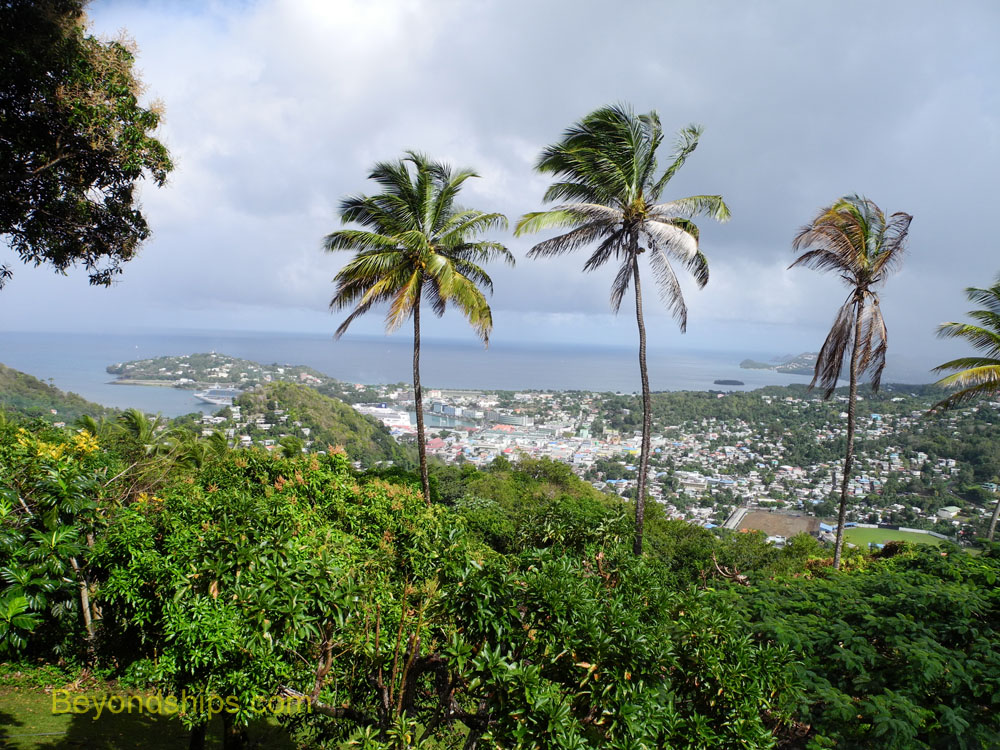 View of Castries, St. Lucia