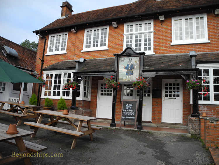 New Forest England Minsted pub