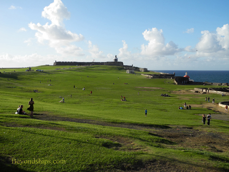 Picture El Morro, Old San Juan, cruise destination