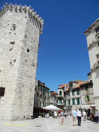 Fruit square, Split, Croatia