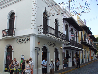 Picture Old San Juan, cruise destination