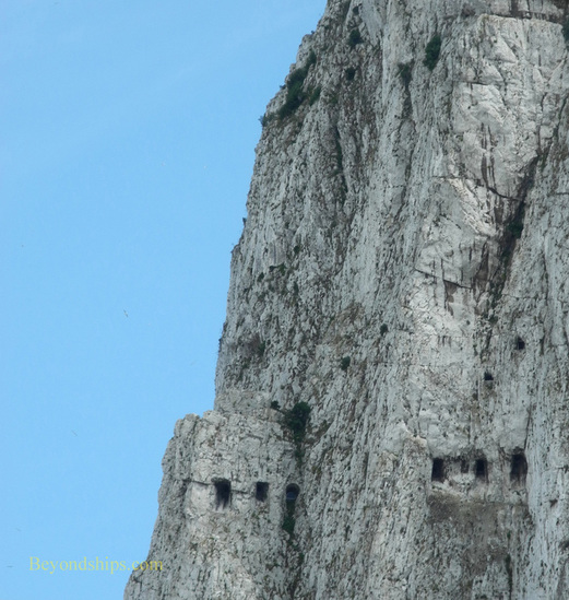 North Face of the Rock of Gibraltar