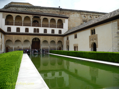 The Courtyard of the Myrtles, The Alhambra