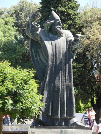 Gregory of Nin statue, Split, Croatia