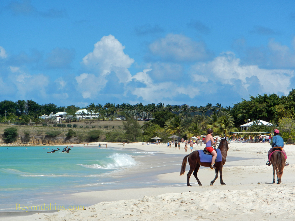 Picture Fort James Beach Antigua