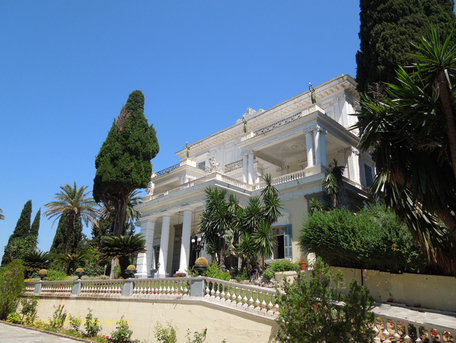 Achilleion Palace Corfu Greece
