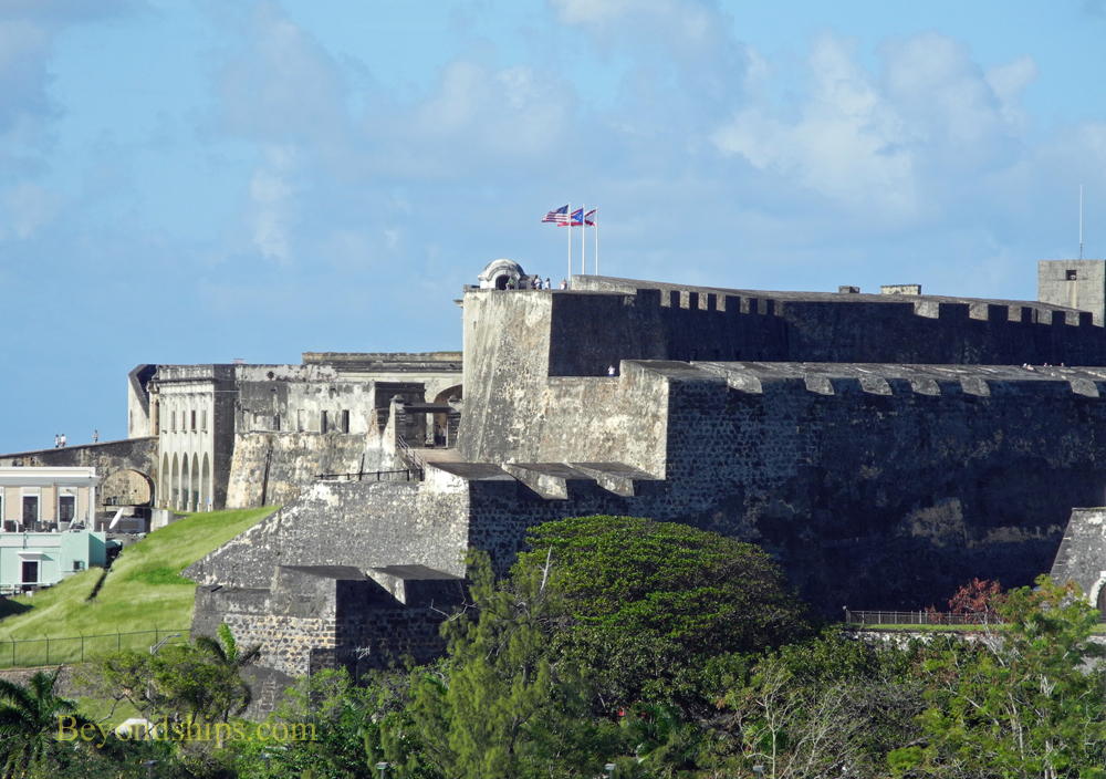 San Cristobal, Old San Juan, cruise destination
